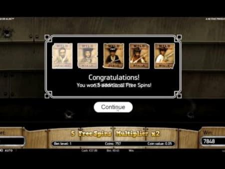 235% Casino match bonus at Wild Slots Casino
