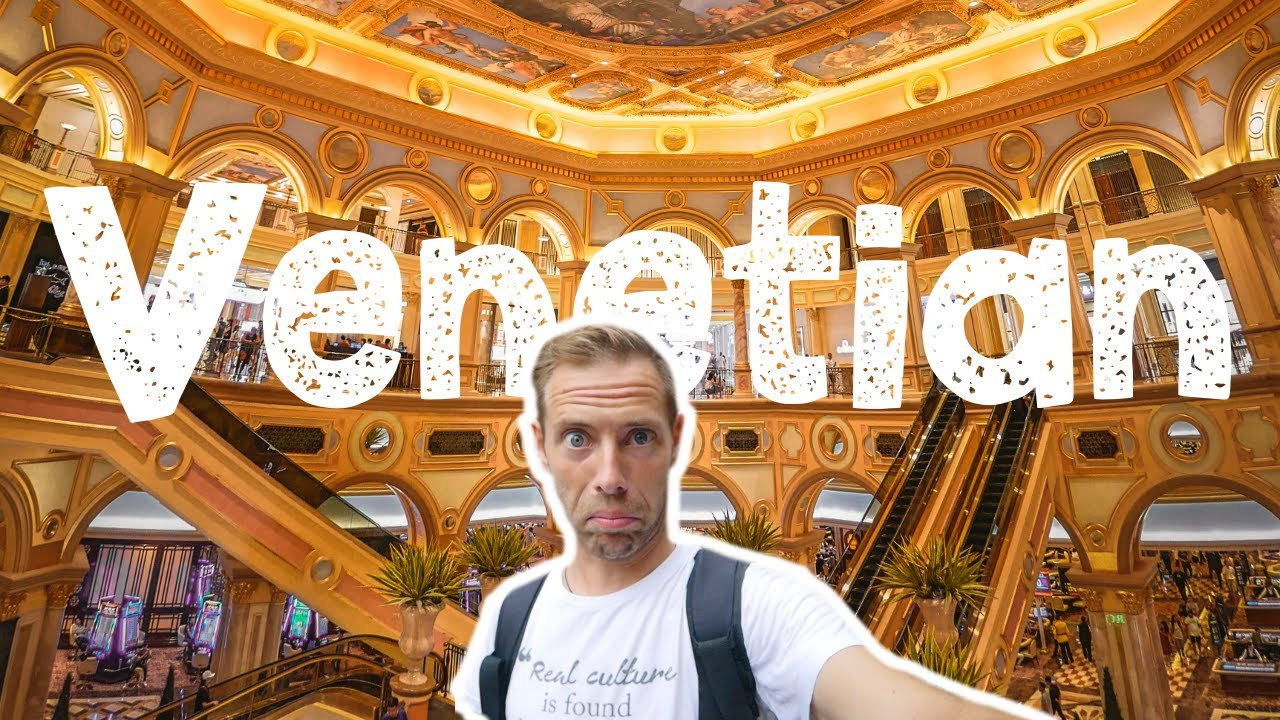 2nd LARGEST CASINO IN THE WORLD! (We Got Lost Inside!) - Macau