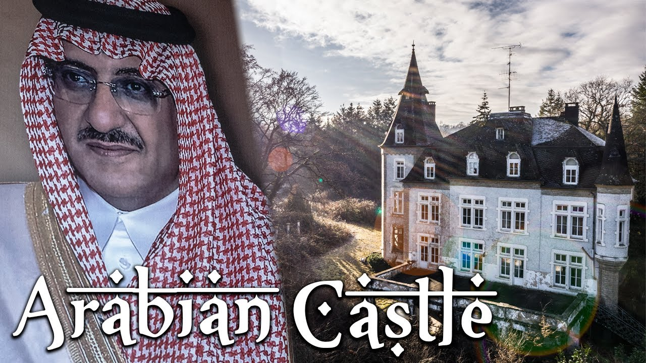 Abandoned Luxembourgish CASTLE of a Generous Arabian Oil Sheik | They Never Returned!