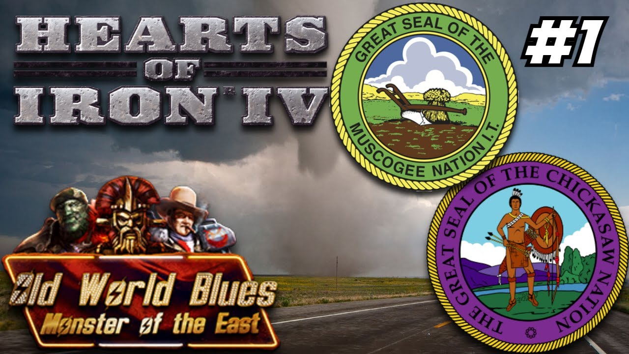 Oklahoma Casinos Are Open For Business! Hoi4 Old World Blues: Chicasaw-Muscogee Coalition #1