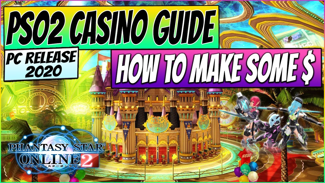 #PSO2 Casino Guide - Different games and how to make coins explained! - PC Gameplay 2020
