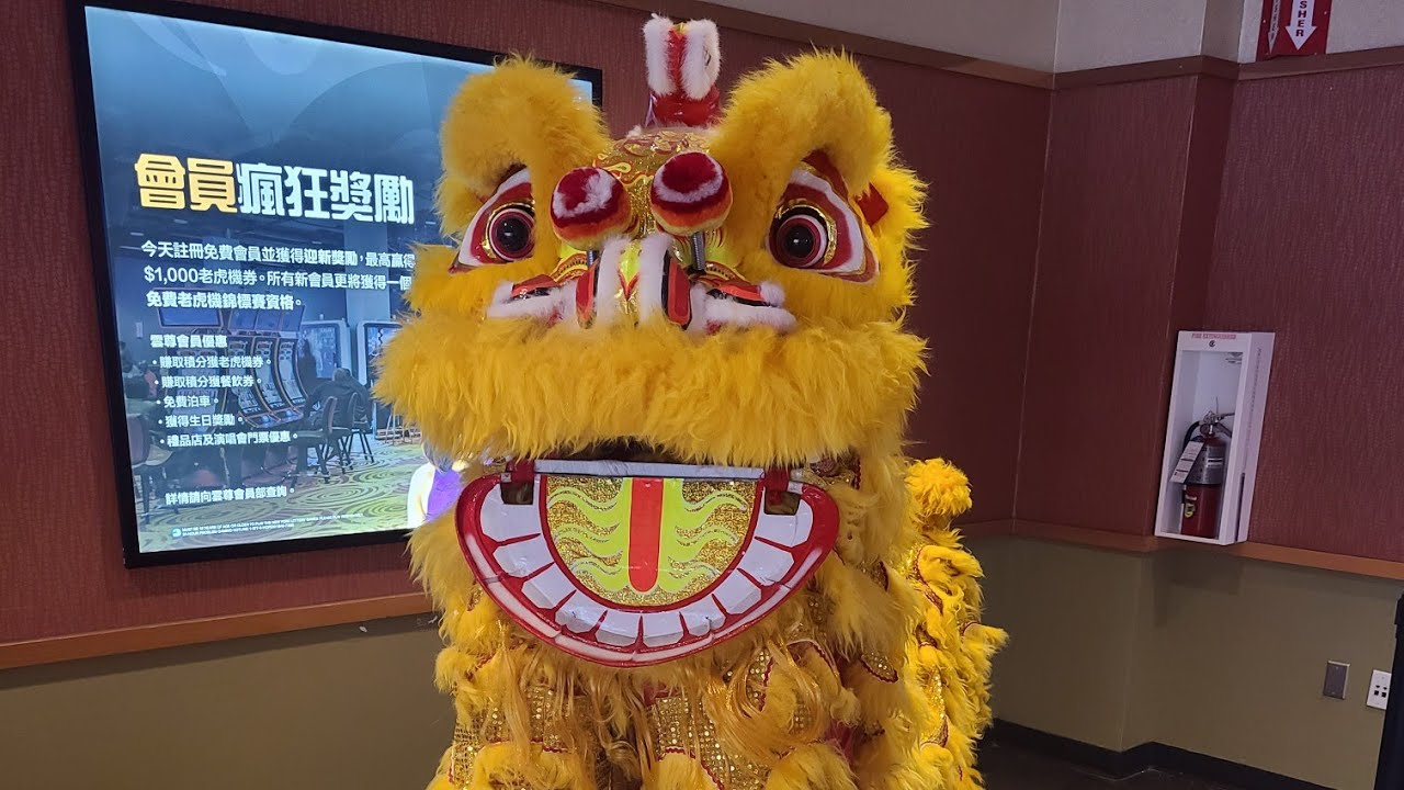 #youtubeshorts   #China Chinese New Year at the casino in New York City #RaphaelBrooklyn718