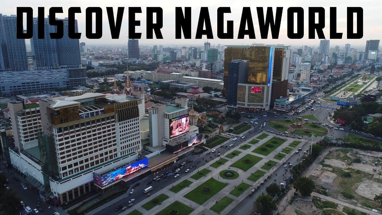 Alex Gray Tours NagaWorld at WPT Cambodia