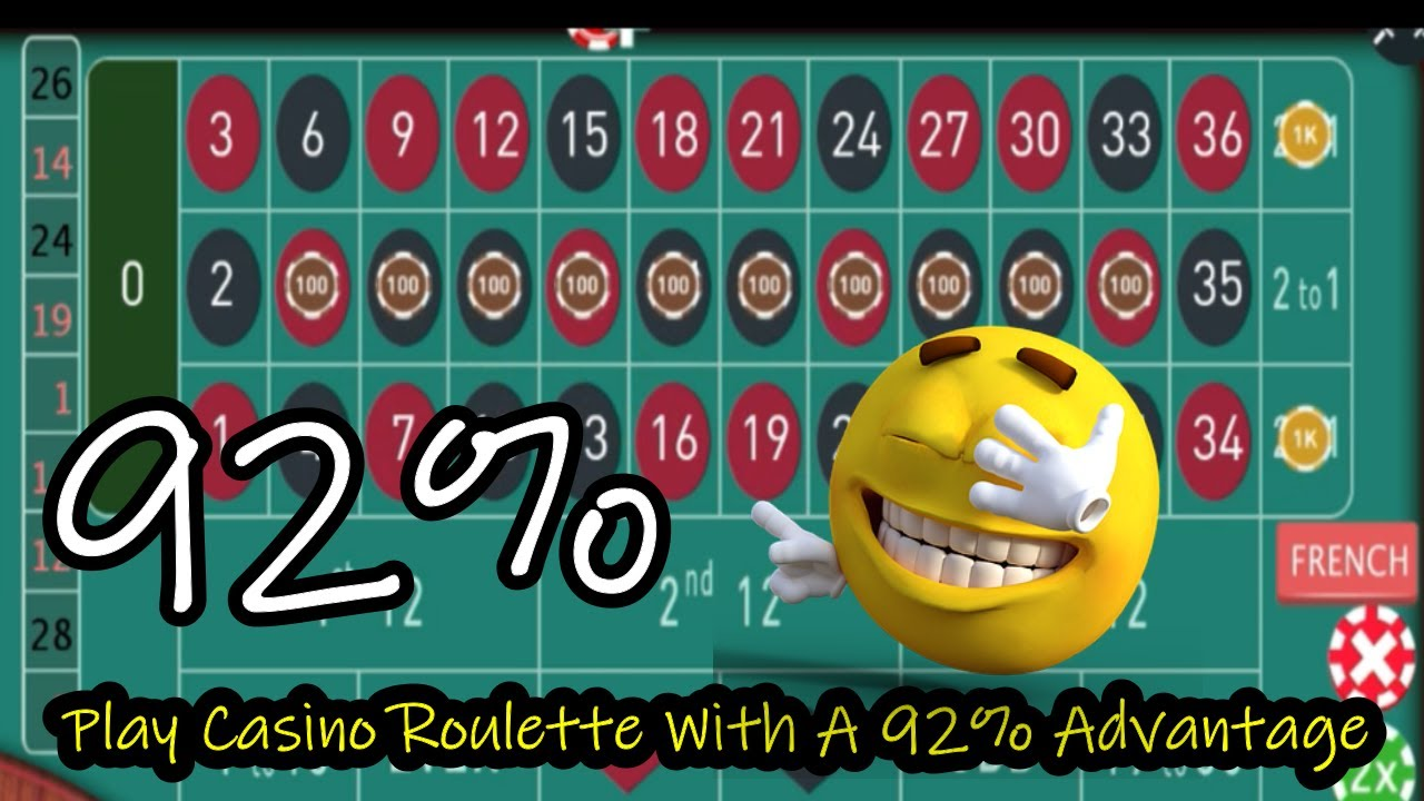 Play Casino Roulette With A 92% Advantage    TheRouletteFever