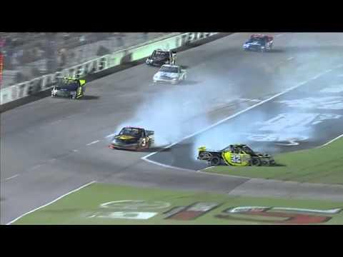 Steve Arpin Austin Dillon crash 2011 WinStar World Casino 400K